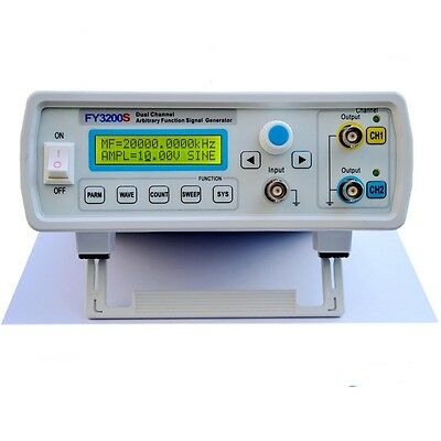 20MHz Dual-channel Arbitrary Waveform DDS Function Signal Generator FY3220S
