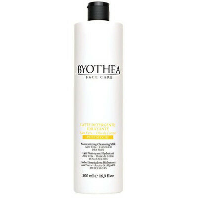 Moisturizing Cleansing Milk 500ml Byothea ® Dry Skin Aloe vera and Cotton Oil