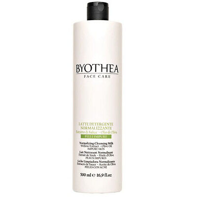 Normalizing Cleansing Milk 500ml Byothea ® Latte Detergente Normalizzante Olive