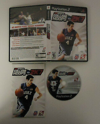 College Hoops 2K7 Used Complete  (Sony PlayStation 2, 2006)