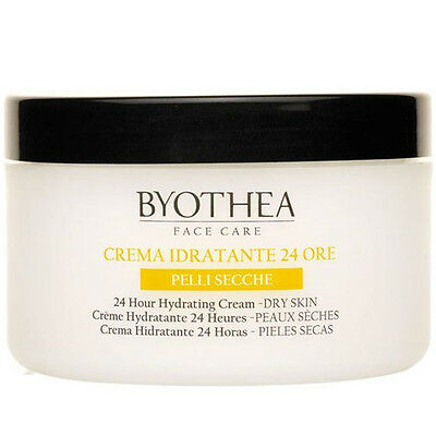 Hydrating Cream 24 Hours 200ml Byothea ® Dry Skin Crema Idratante 24 Ore Argan