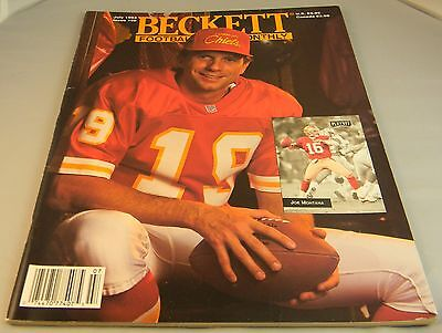 BECKETT'S FOOTBALL CARD MONTHLY JULY 1993 PRICE GUIDE FOR TRADING CARDS Z5