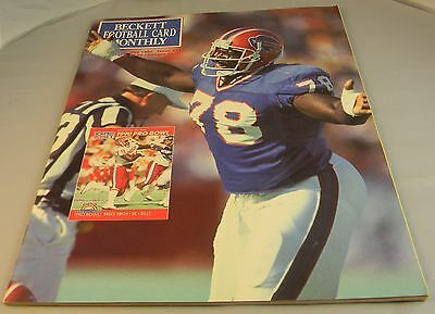BECKETT'S FOOTBALL CARD MONTHLY MAY 1991 PRICE GUIDE FOR TRADING CARDS Z4