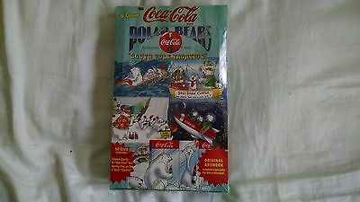 COCA-COLA POLAR BEARS COLLECTORS CARDS, FULL BOX FACTORY SEALED