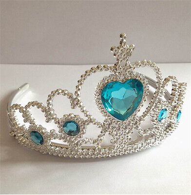UK SELLER Kids LOVELY PRINCESS SNOW QUEEN ELSA COSTUME TIARA CROWN/GLOVES U PICK