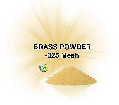 Brass Powder -325 Mesh (One Ounce) USA