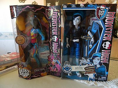 Monster High Invisi Billy and Neighthan Rot Dolls