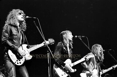 Mott The Hoople Photo Ian Hunter 8x12 or 8x10 inch '72 Chicago IL Live Concert 1
