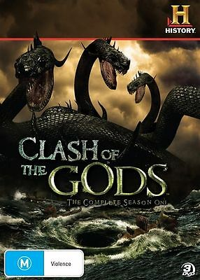 Clash Of The Gods : Season 1 (DVD, 2010, 3-Disc Set) - Region 4