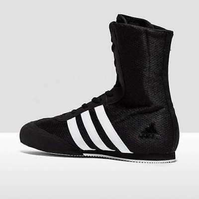 Adidas Boxing Kids Childs Box Hog 2 Boots Shoes - Black/White stripes