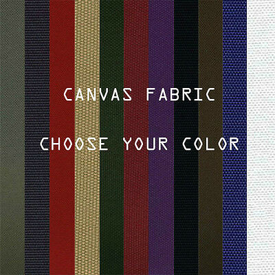 """Canvas Fabric WATERPROOF OUTDOOR FABRIC 60"""" Wide 600 Denier By the Yard"""