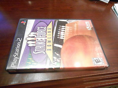 +++ STRIKE FORCE BOWLING Playstation 2 PS2 Game COMPLETE +++