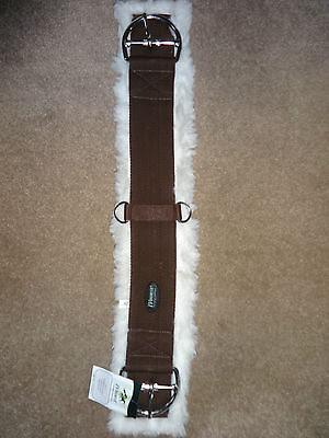"NEW WESTERN CINCH FLEECE LINED PREMIUM WEBBING BLACK and BROWN SIZES 26"" - 36"""