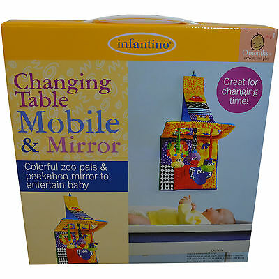 infantino Changing Table Mobile & Mirror, clearance price