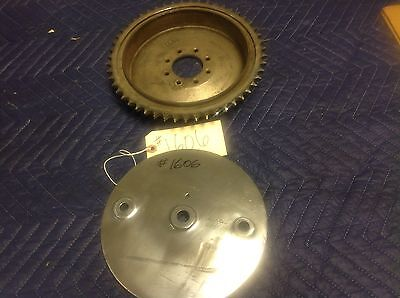 Harley Davidson Sportster 41401-52  Rear Brake Drum and Backing Plate    #1606