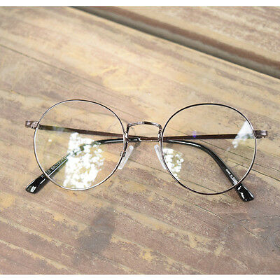 1920s Vintage eyeglasses oliver retro 15R30 Brown metal classic eyewear findhoon