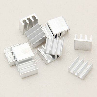 New High Quality 5pcs adhesive Aluminum Heat Sink For Memory Chip IC GR