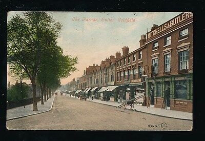 Warwicks Warwickshire SUTTON COLDFIELD The Parade c1900s? PPC by Valentine