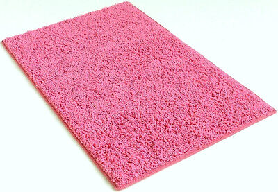 Bubble Gum Pink Custom Carpet Area Rug