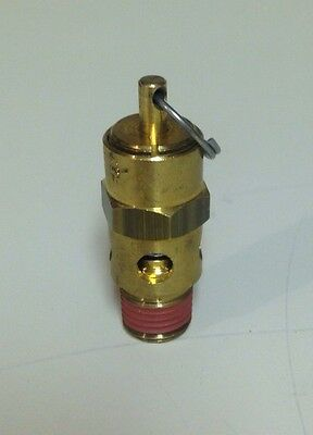"CDI CONTROL DEVICES ST25 Safety Valve 1/4"" NPT 25 PSI"