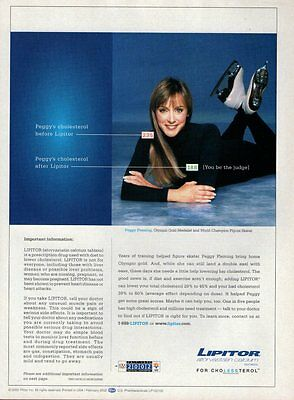 PEGGY FLEMING  (1 page)  2002 Picture Clipping   vc