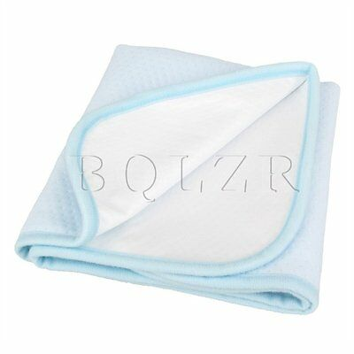Cotton Washable Baby Infant Urine Mat Waterproof Changing Diaper Bed Pad 40 x 50