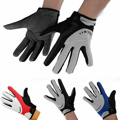 Sports Cycling Racing Motorcycle Bicycle MTB Full Finger Riding Bike Gloves M-XL