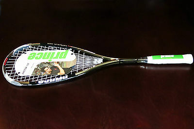 Prince Airstick 130 squash - world #1 Ramy Ashour - TWO RACQUET SPECIAL