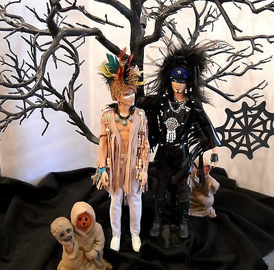 SPECIAL PRICING -Adam Lambert & Sauli -Glamtastic Duo- OOAK Celebrity  Dolls