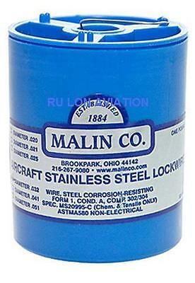 Malin Safety Wire - Stainless Steel - Ms20995C025  .025