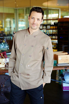 Chefworks Basic Color Chef Coat Ccba