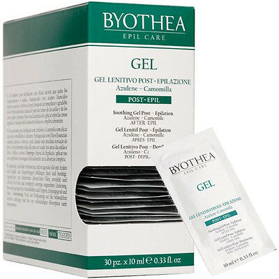 Sooting Gel Post-Depilation 10ml x 30 pcs Epil Care Byothea ® Azulene Camomilla