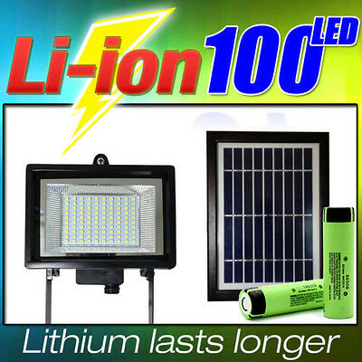 Ultra Bright Solar Light 100 LED Outdoor Waterproof Security Flood SMD LED