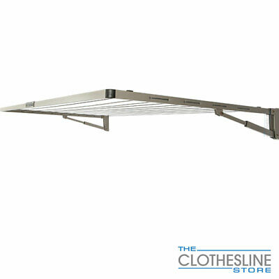 Wall Mounted Hills Everyday Single Folding Clothes Line, Washing Line Clothes