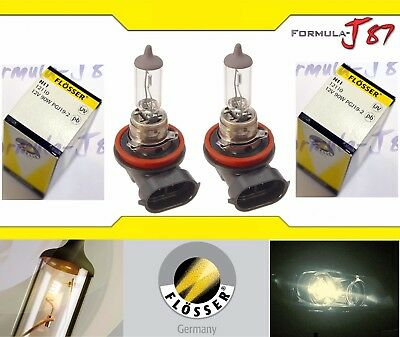 Flosser H11 90W 12110 Two Bulbs Head Light Low Beam Replacement Off Road Rally