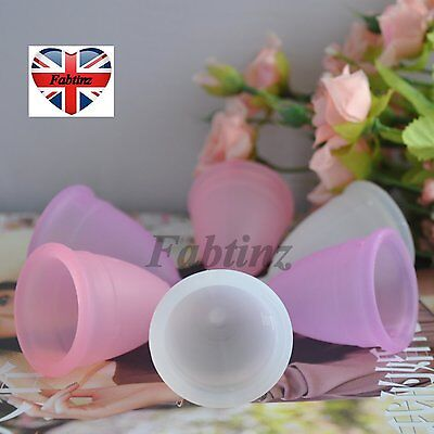 Silicone Menstrual Lady Cup Period Vaginal Care Healthy Reusable Cups