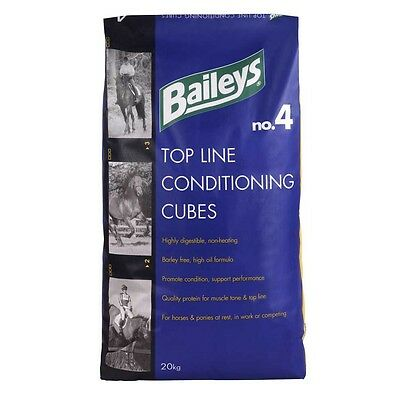 Baileys No. 4 Top Line Conditioning Cubes 20kg Horse & Pony  Feed