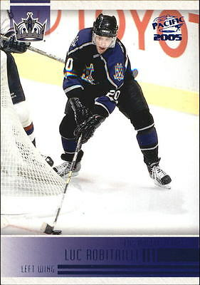 2004-05 Pacific Blue #125 Luc Robitaille /250