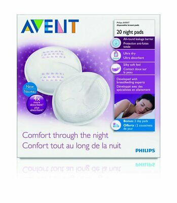 Philips AVENT Night Breast Pads (20 pack) - SCF253/20