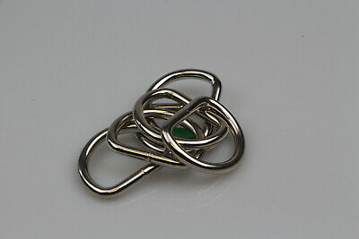 Dee d ring 6 x welded steel 38mm x 5mm horse rugs dog collars leads