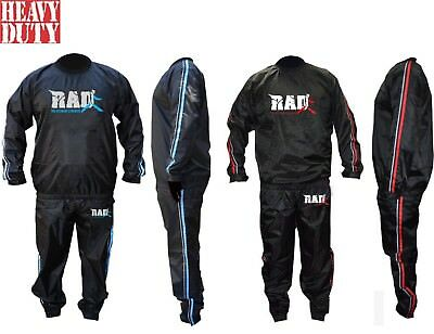 RAD™  Heavy Duty Sweat Suit Sauna Exercise Gym Suit Fitness Weight Loss Anti-Rip