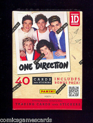 ONE DIRECTION 2013 Panini 8-Pack FACTORY SEALED BLASTER BOX 1D INSERTS STARDUST