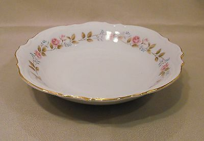 Bristol Fine China Japan  Scalloped Edge  Soup Cereal Bowl Spring Garden Pattern