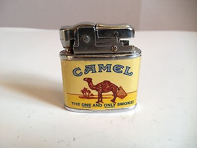 1995 RJRTC CAMEL LOGO VINTAGE CIGARETTE LIGHTER  THE ONE AND ONLY SMOKE!