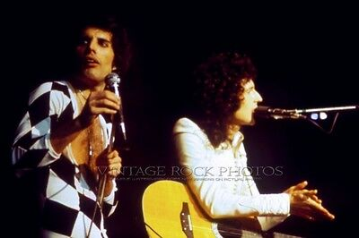 Queen Photo Mercury May 8x12 or 8x10 inch '77 Live Concert from 35mm Negative 9