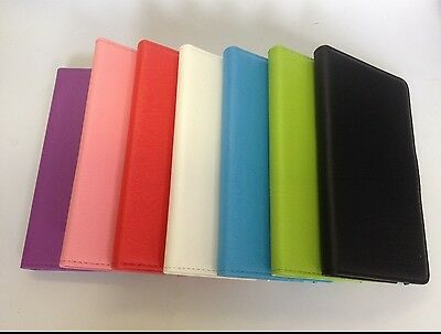 Textured Leather Case Cover Credit Card Slot Wallet Samsung Galaxy Note 3