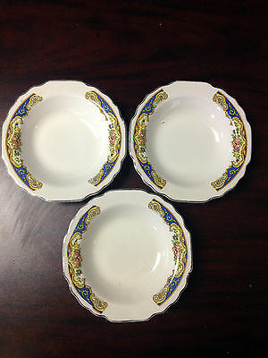 "Lido W.S. George Small Bowl Set of 3 - 5-1/2""Diameter 1""Depth"