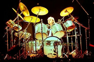 Roger Taylor Queen Photo 8x12 or 8x10 in '79 Live Concert from 35mm Negative L47