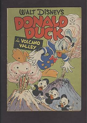 Four Color #147 Donald Duck Volcano Valley Carl Barks Comic Kings