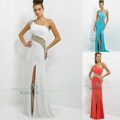 Long Chiffon Bridesmaid Dress Formal Evening Dress Party Cocktail Prom Ball Gown